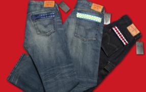 Jeans von Levi's und KAWS