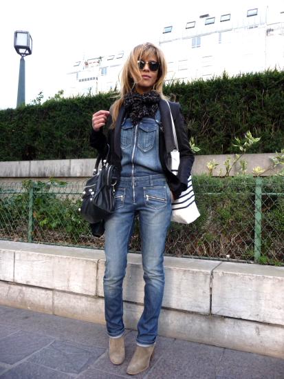 streetstyle jeans latzhose modepilot. Black Bedroom Furniture Sets. Home Design Ideas