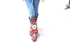 Streetstyle: handmade Stiefel aus Afghanistan