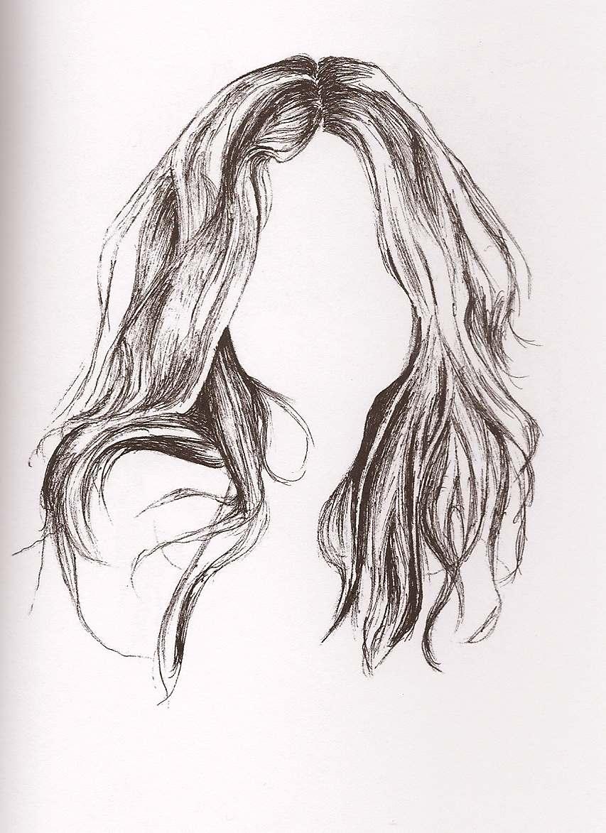 Frisuren Frauen Zeichnen Mittellange Haare