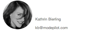 Kathrin Kontakt Modepilot