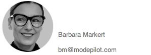 Kontakt Barbara Modepilot