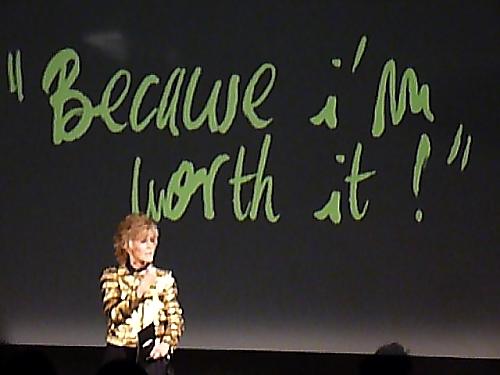 40 Jahre LOréal Slogan Weil ich es mir wert bin! - Modepilot