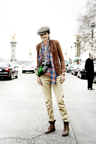 2Elie Saab, streetstyle, Inès de la Fressange,mustermix,haute Couture 2012,Paris