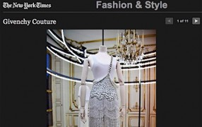 Givenchy's Artdeco Spring Couture 2012