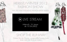 Fashionweek Berlin: Escada Livestream