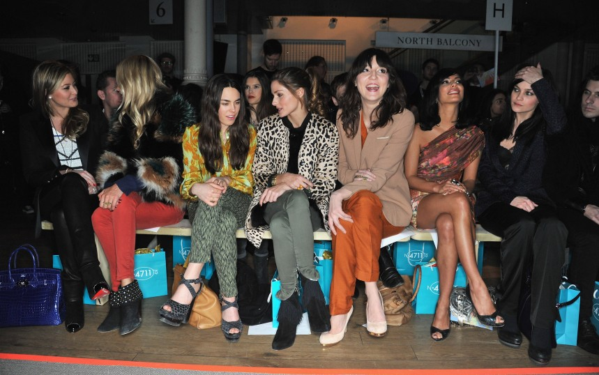 Matthew Williamson: London Fashion Week A/W 2012 - Front Row