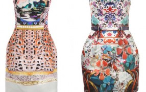Mary Katrantzou: Seide vs. Polyester