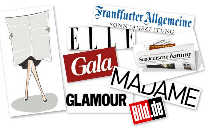 Modepilot in der Presse