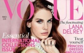 Lana del Rey auf der britischen Vogue