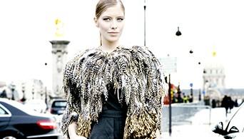Eleana Perminova,Chanel,Haute Couture 2012,Paris,Streetstyle,Tank