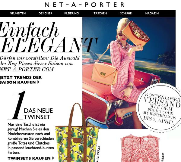 Free-Shipping bei Net-a-porter