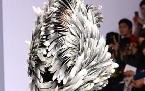 Paris: Peachoo Krejberg - das Hinguckerkleid
