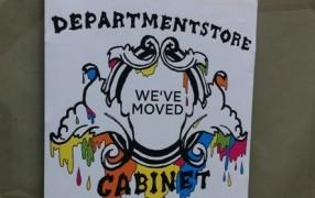 Das Cabinet ist umgezogen