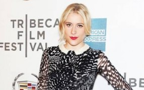 New York: Greta Gerwig in Rena Lange