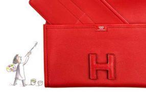 Neu: Clutch-Organizer von Hermès