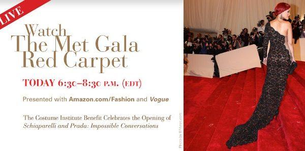 Der Met Gala Red Carpet