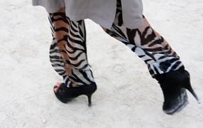 Streetstyle: Leopardendruckhose
