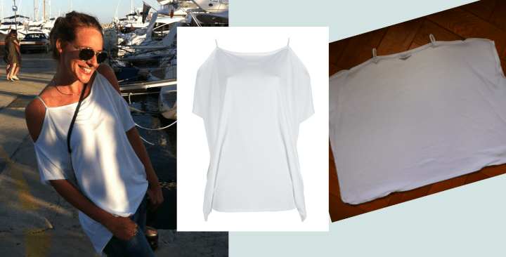 Cold shoulder top Modepilot Givenchy