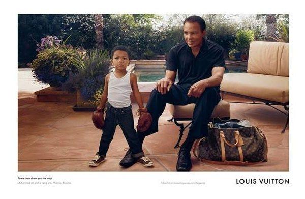 Muhammad Ali wirbt für Louis Vuitton