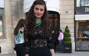 Erstes Streetstyle: Haute Couture