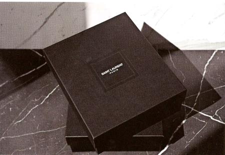 Modepilot-Scan aus der Vogue France-YSL neues Logo