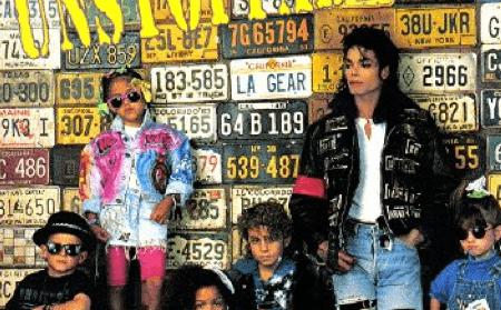 1989 Michael Jackson Modepilot L.A. Gear