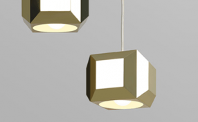 Lee Broom Lampe gold Modepilot