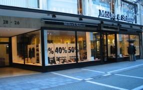 Frankfurt Shopping II: Möller & Schaar schließt