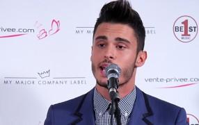 Baptiste Giabiconi stellt sein 1. Album vor