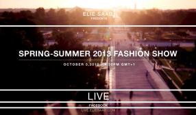Elie Saab Spring Summer 2013 live Modepilot