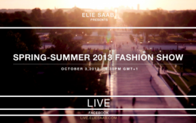 Elie Saab Fashionshow LIVE