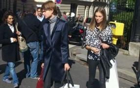 Céline-Models bekommen Céline-bags...