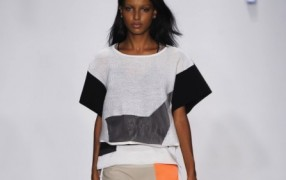 NY: BCBG, Helmut Lang - Balenciaga inspiriert