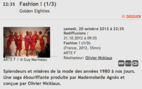 TV-Tipp: Dokumentarfilm über die Mode