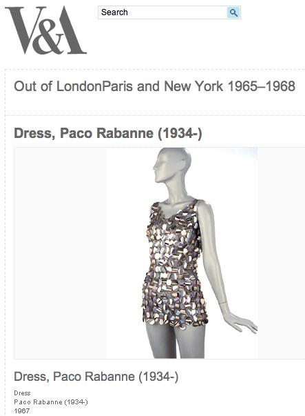 Modepilot-Geburtstag-Gewinn-Paco Rabanne-Modeklassiker-Kleid-1967-Mode-Blog-Fashion