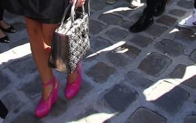 Mit Melissas zu Dior