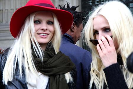 Modepilot-Models nach Paco Rabanne-Paris-Fashionweek