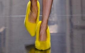 Weil die Frage aufkam: Celine Schuhe
