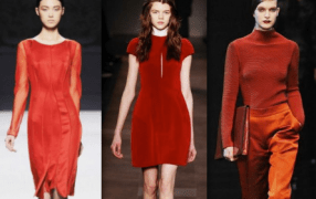Winter Must-Haves: die Farbe Rot