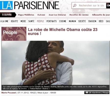 Modepilot-Michelle Obama-Kleid-Asos-Mode-Blog-Diskussion-Politik