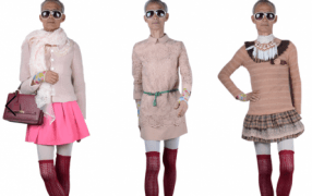Rolemodel mal anders II: Opa in Girlie-Klamotten