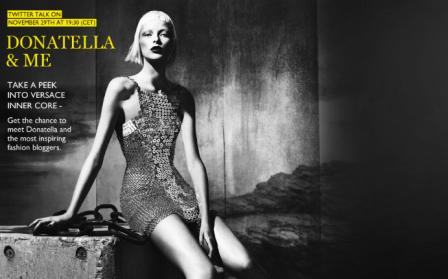 Donatella Versace Modepilot Twitter
