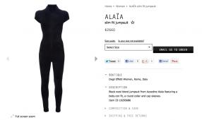Alaia Jumpsuit Modepilot