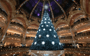 The battle: Xmas-Dekor bei Printemps und Lafayette