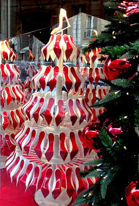 Modepilot-Louboutin Weihnachtsbaum-Fbg. st- Honore-Paris-Noel 2012-Mode-Blog