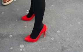 Streetstyle: Pelz zu High Heels