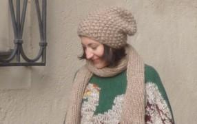 Streetstyle: Julia, Poncho-Gewinnerin