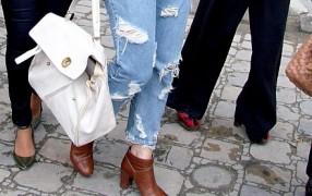 Umfrage zu Löcher-Jeans