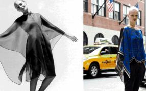 Wieder aufgelegt: Poncho-Cape von Givenchy
